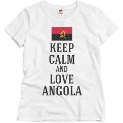 Keep calm love Angola
