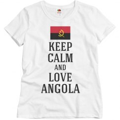 Keep calm love Angola