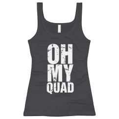 Oh my quad Workout Tank