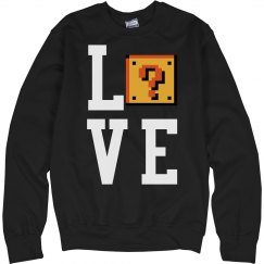 WHATS LOVE sweatshirt