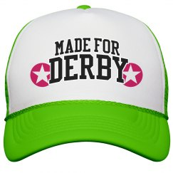 Made for Roller Derby Neon Hat