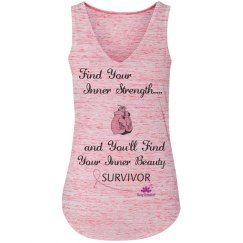 Find Your Inner Strength -Breast Cancer Survivor tank