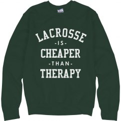 Lacrosse Is Cheaper Than Therapy