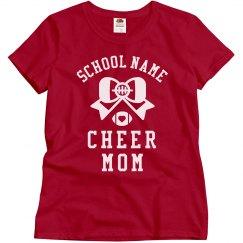 Customizable School Cheer Tees