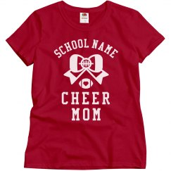 Customizable School Cheer Mom