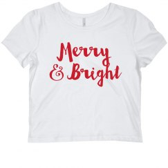 Ladies Merry and Bright Crop