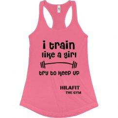 Like a girl tank