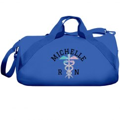 Nurse Name RN Duffle