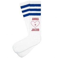Love Valentine Socks