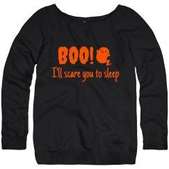 Women's Sweatshirt- I'll scare you to sleep