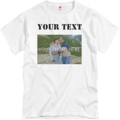 Upload Photo Stencil Text
