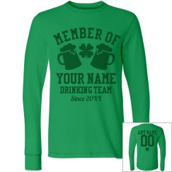 St Pat Drinking Team Long Sleeve
