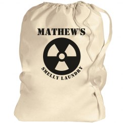 Mathew's Laundry bag