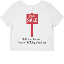 For Sale Crop