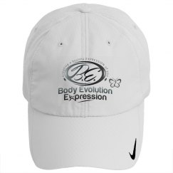Body Evolution Expression B.E. logo hat