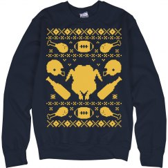 Beer and Turkey Sweater