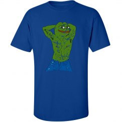 distressed Pepe tee
