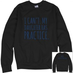 Dad Crewneck - Black