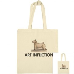 Art Infliction Tote Bag