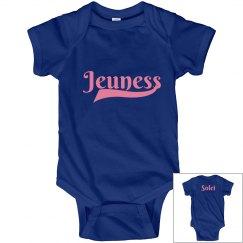 Jeuness Royal Blue Infant Onesies