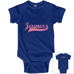 Jeuness Royal Blue Infant Onesies