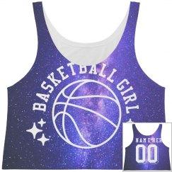 All Over Print Basketball Crop