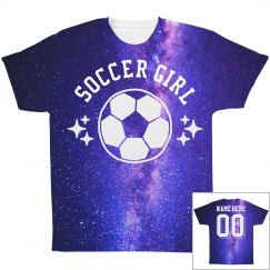 Space Soccer All Over Print Shirt