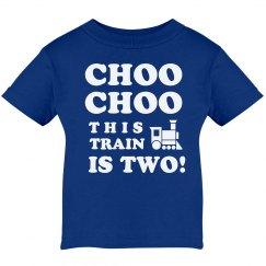 Choo Choo this Train is Two!