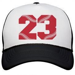 Personalize A Baseball Hat for the Big Game!