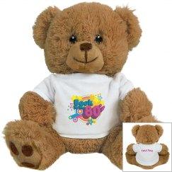 80's Retro Teddy Bear