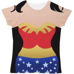 Wonder Woman Parody Vintage Costume