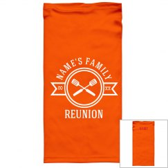 Family Reunion Custom Face Cover Gaiters
