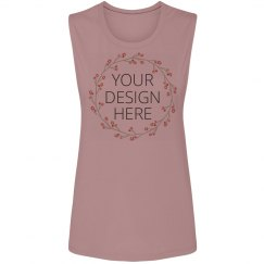 Custom Trendy Muscle Tank