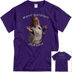 Happy Sixtieth - Men (regular length)