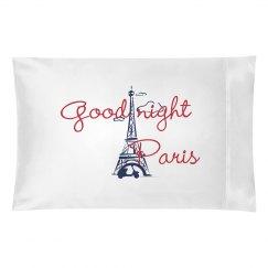 Good Night Paris - Pillow