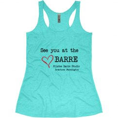 Pilates Barre Tank Top