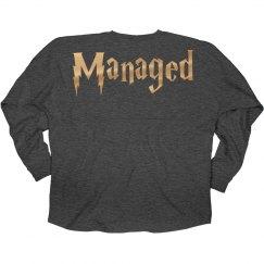 Golden Metallic Managed Jersey
