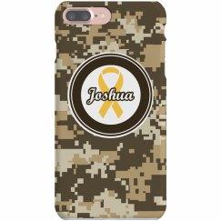 Yellow Ribbon iPhone Case