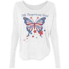 All American Girl Butterfly Tee4
