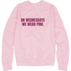 We Wear Pink Crewneck