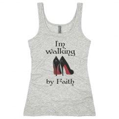 I'm walking by faith tank