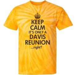 Keep Calm Davis Reunion