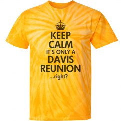 Keep Calm Davis Reunion