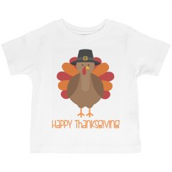 Happy Thanksgiving Toddler Tshirt