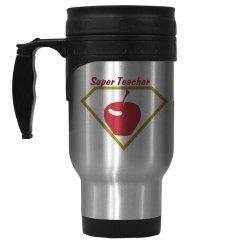 Super teacher thermal mug