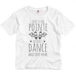 Custom Girls No Pointe Without Dance