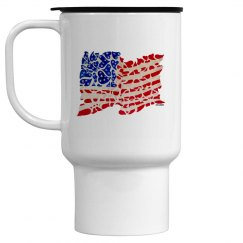 Patriotic Travel Mug