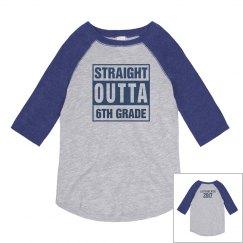 Custom Straight Outta 6th Grade