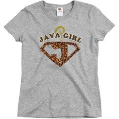 Java Girl Coffee Humor Tee 2