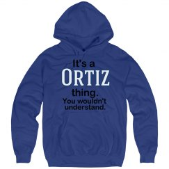 Its a Ortiz thing